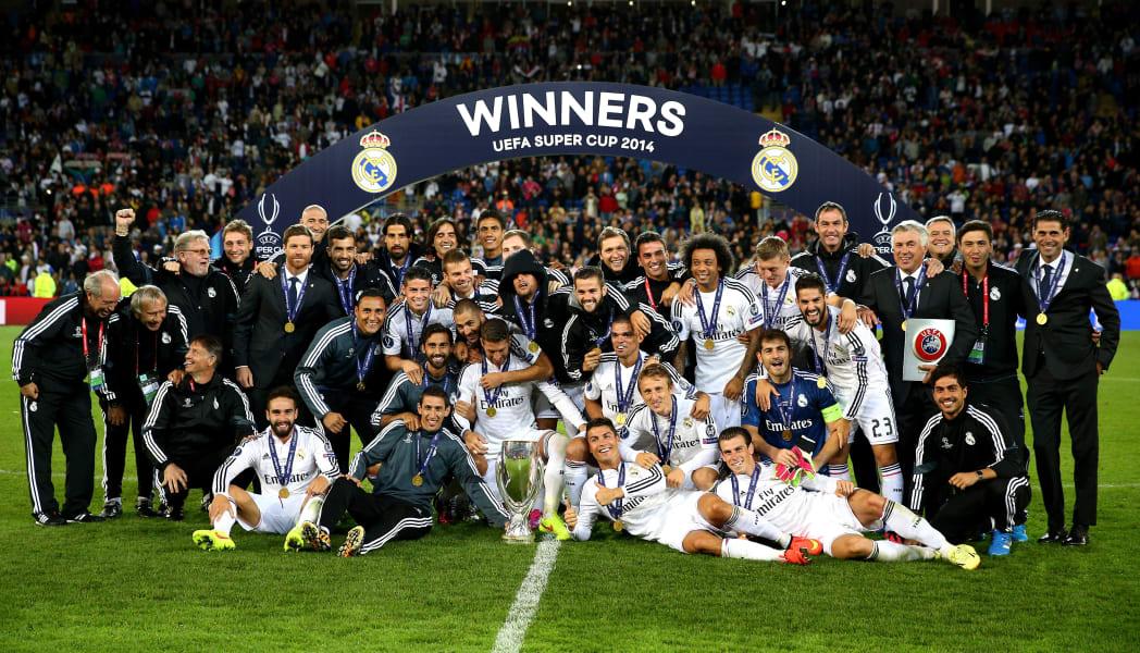 Real Madrid v Sevilla FC - UEFA Super Cup team