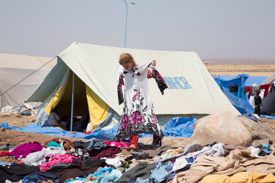 Yazidi faces