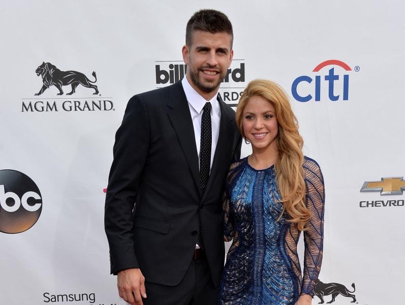 Shakira Gerard Pique May 2014