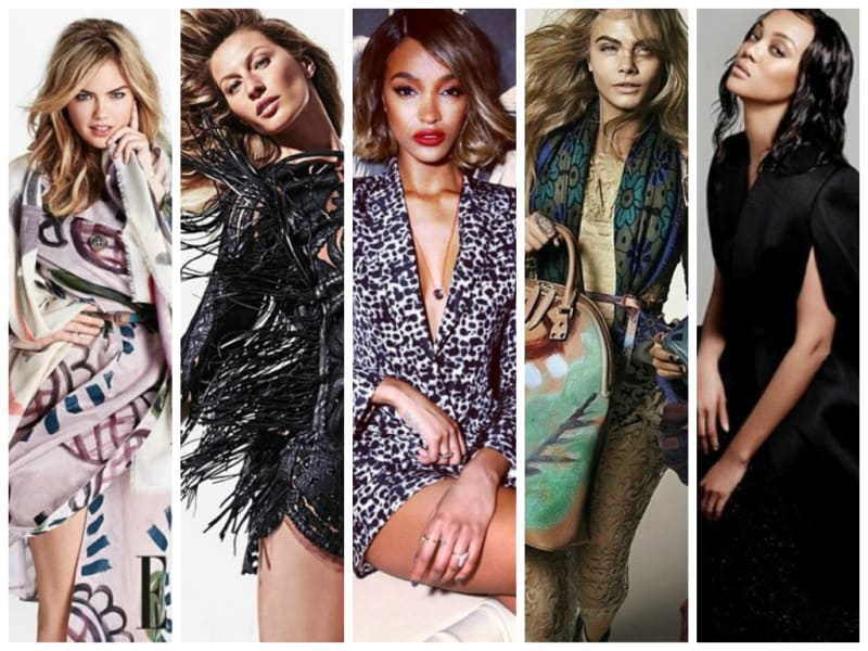 Who are the most social women in fashion?