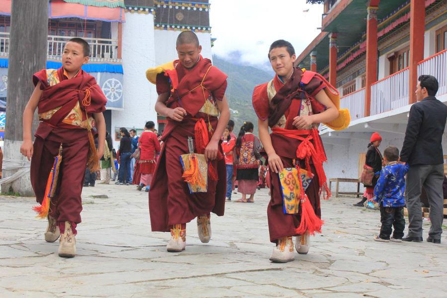 tpod monks India
