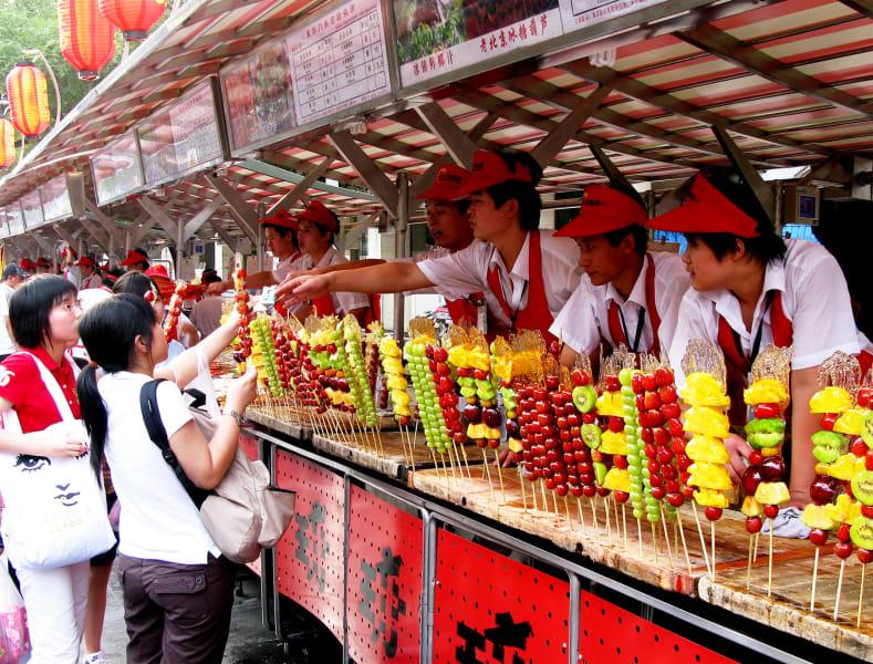 tpod Beijing fruit stand