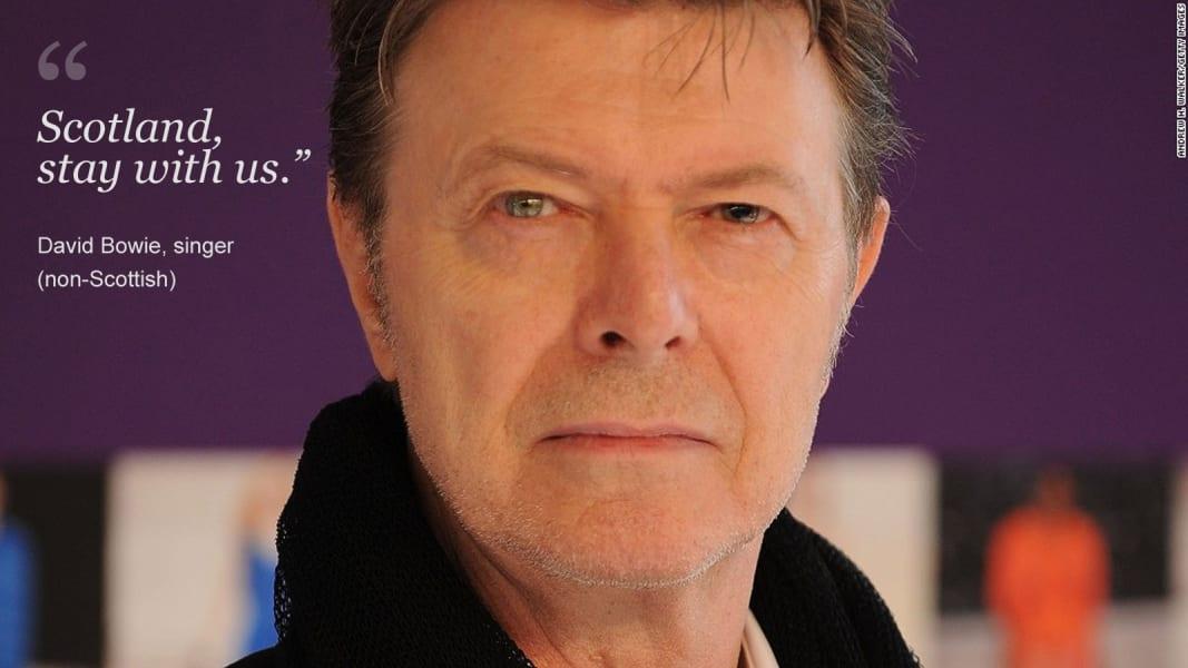 Updated Scotland David Bowie