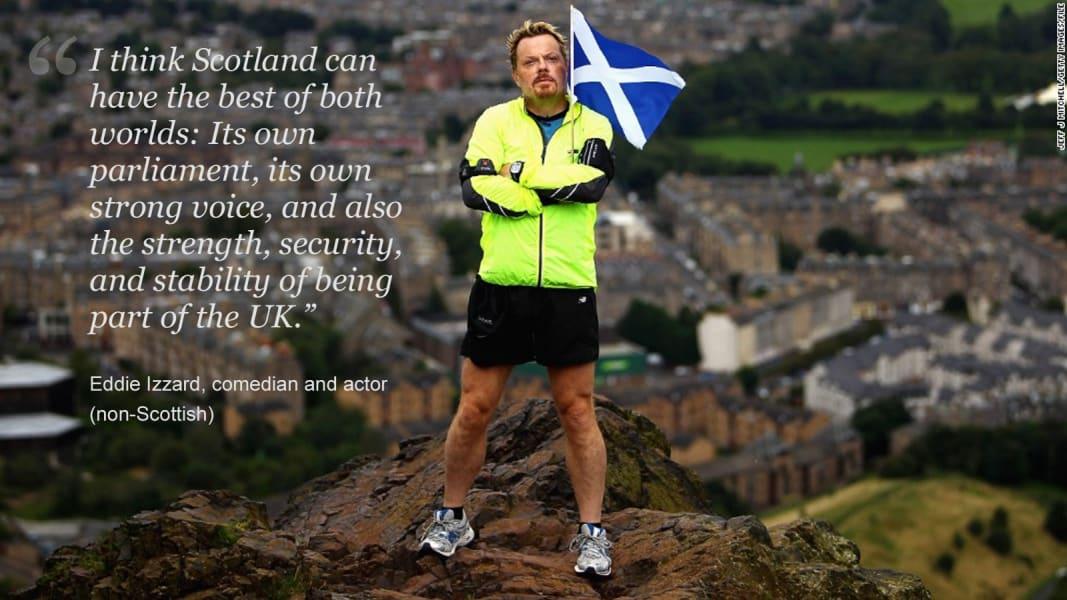Updated Scotland Eddie Izzard