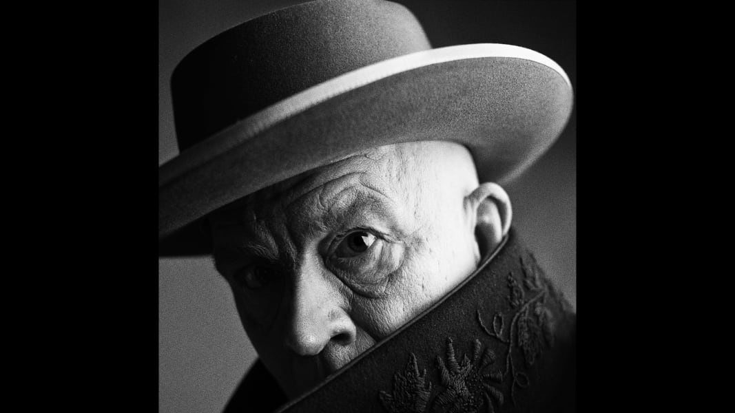 17_Irving Penn - Pablo Picasso, Cannes, France, 1957