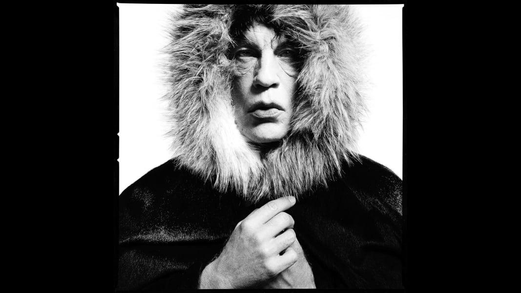 "20_David Bailey - Mick Jagger ""Fur Hood"", 1964"