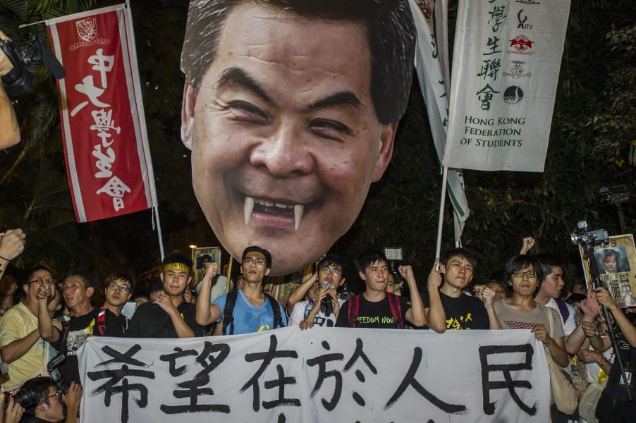 hong kong students march