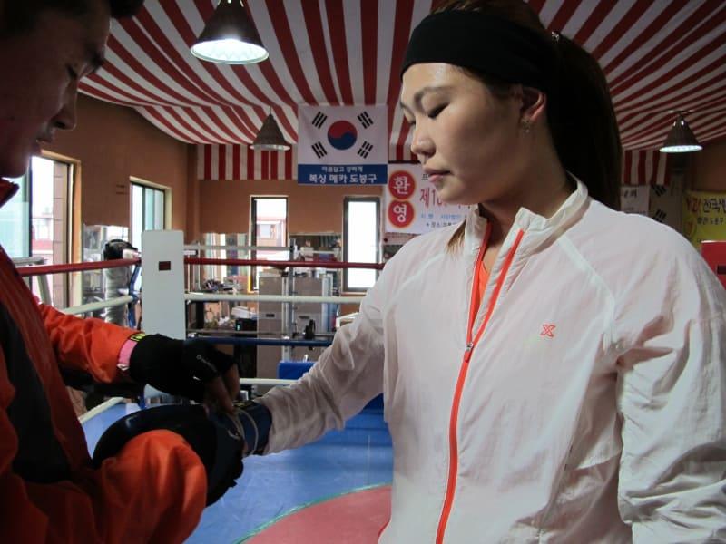 North Korea boxer defector