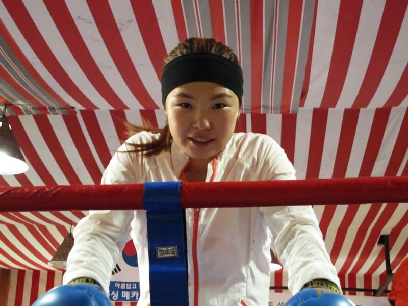 North Korea boxer