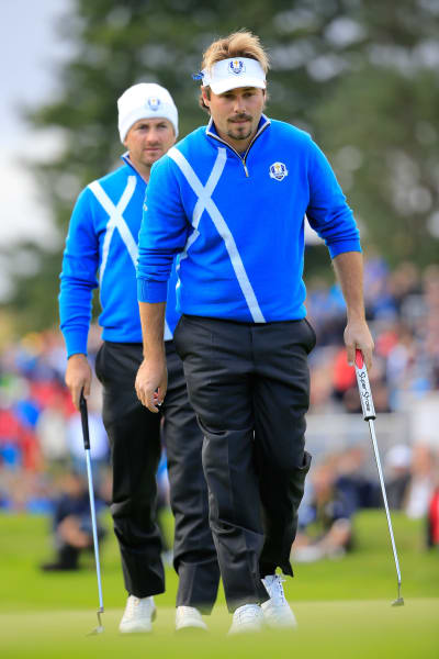 ryder cup day one dubuisson mcdowell