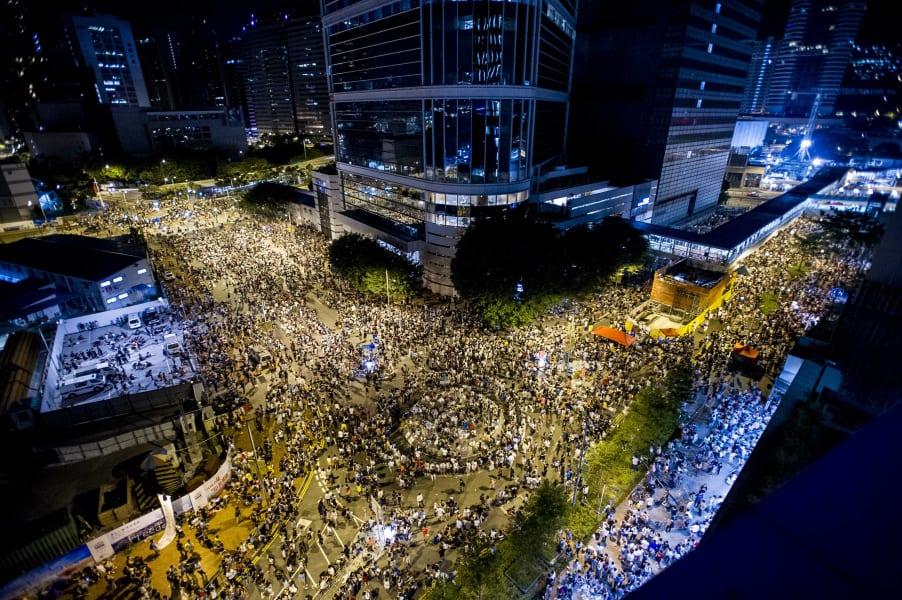 Hong Kong protests 28 Sept 01