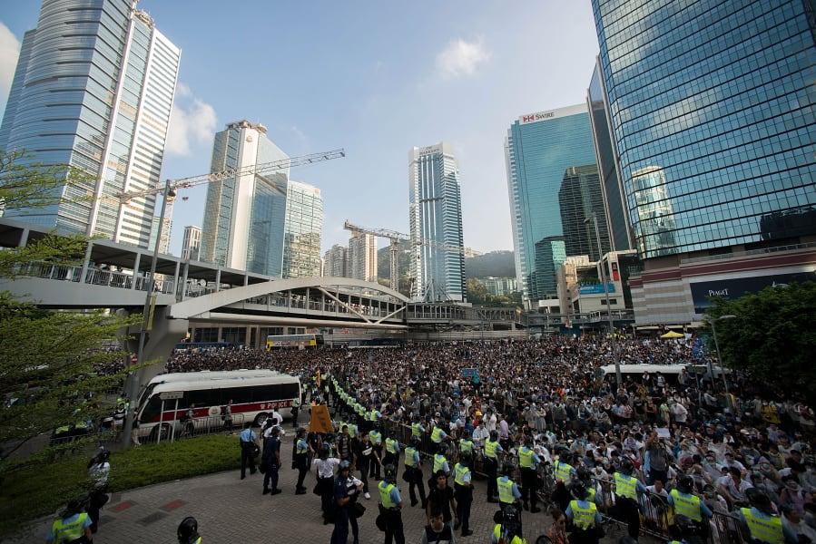 HongKong protests Sept 28 09