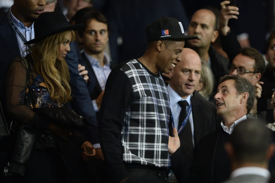 Sarkozy Jay-Z
