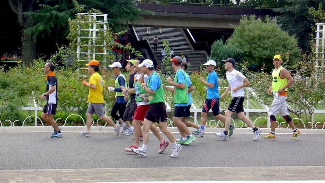 1. Urban running Yoyogi Park, Tokyo