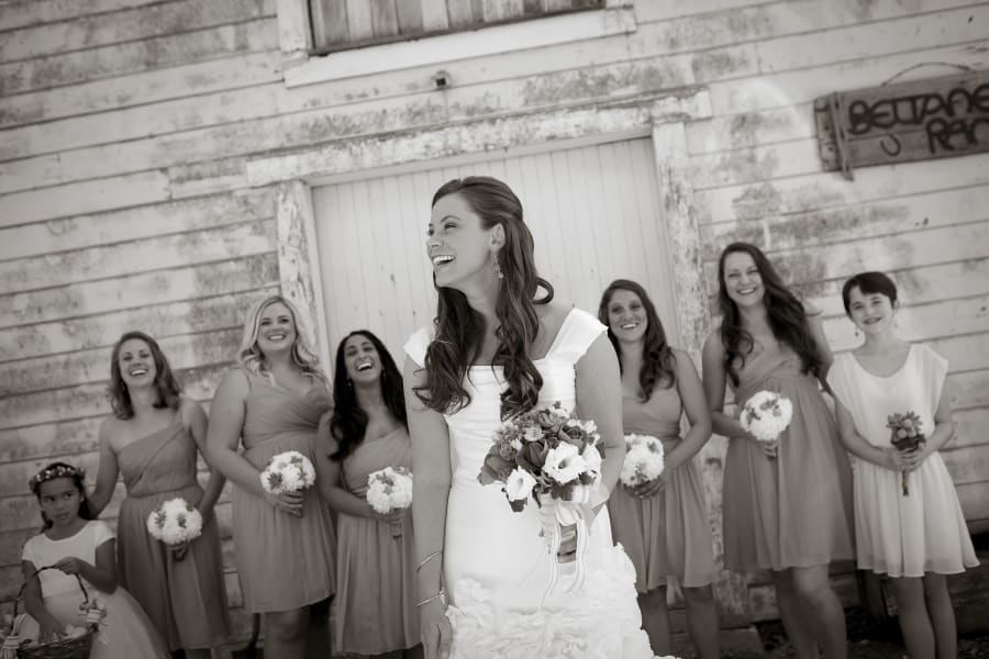 brittany with bridesmaids