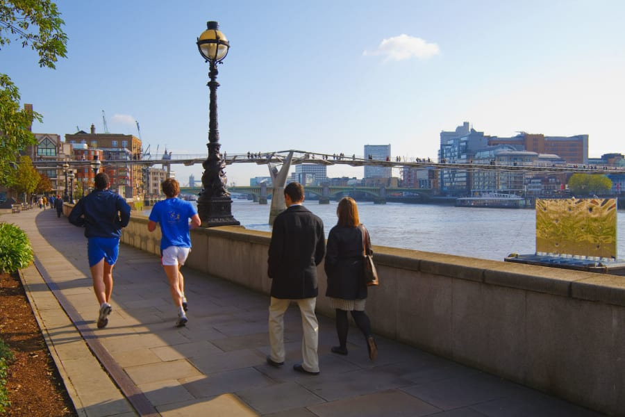 2. Urban running routes London