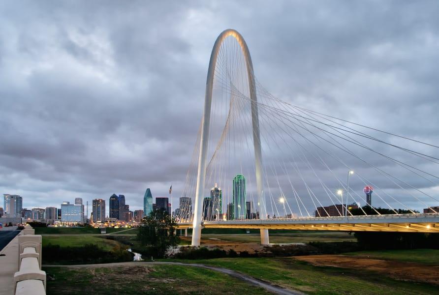 7. Urban running Dallas