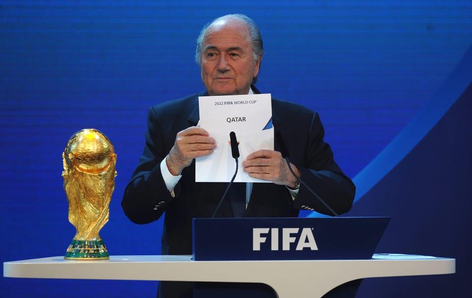 Blatter FIFA World Cup Qatar award