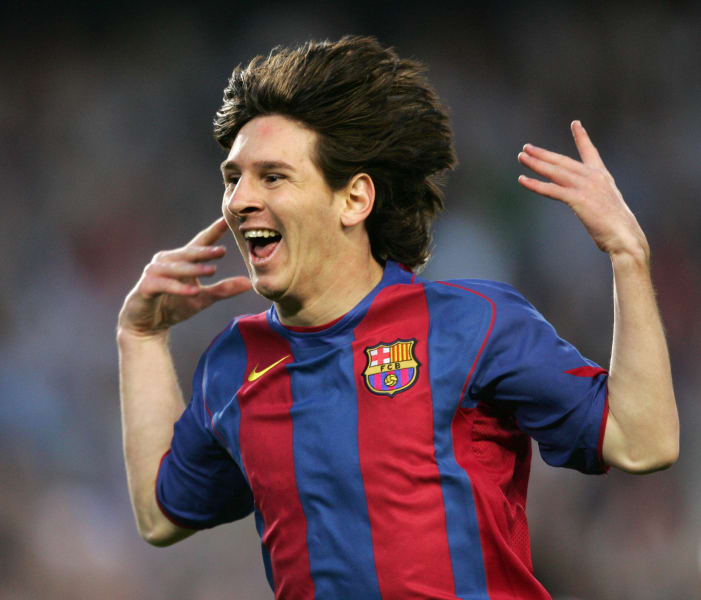 messi first goal albacete may 1 2005
