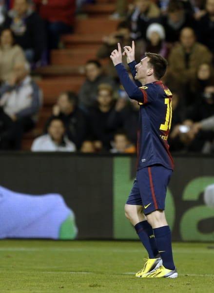 messi 91 goals 2012