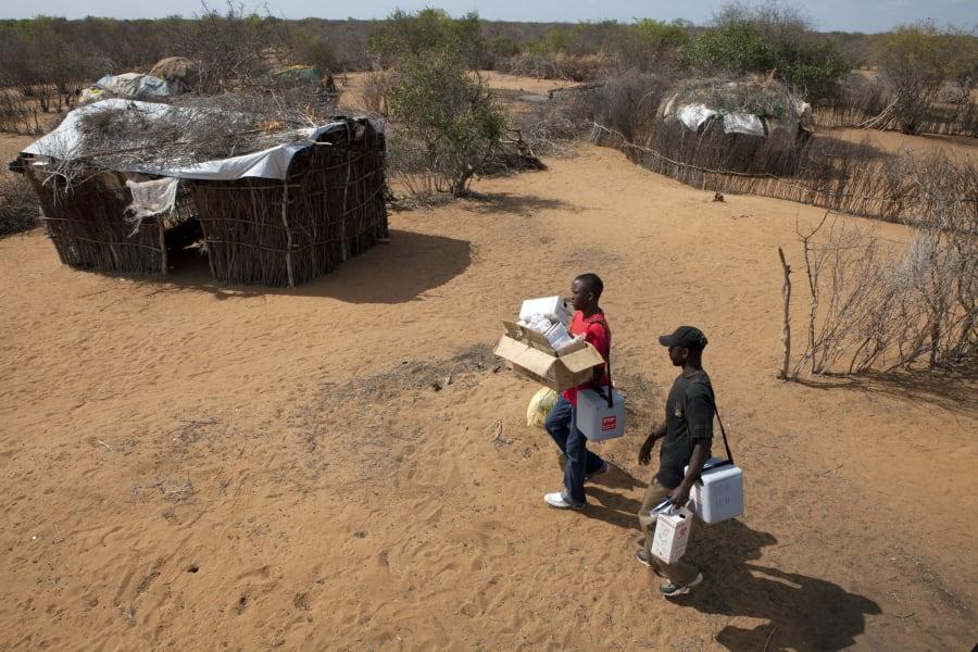 polio workers in Dadaab Kenya