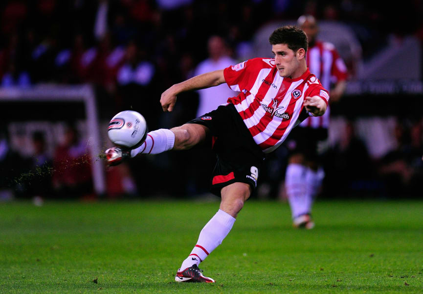 ched evans volley