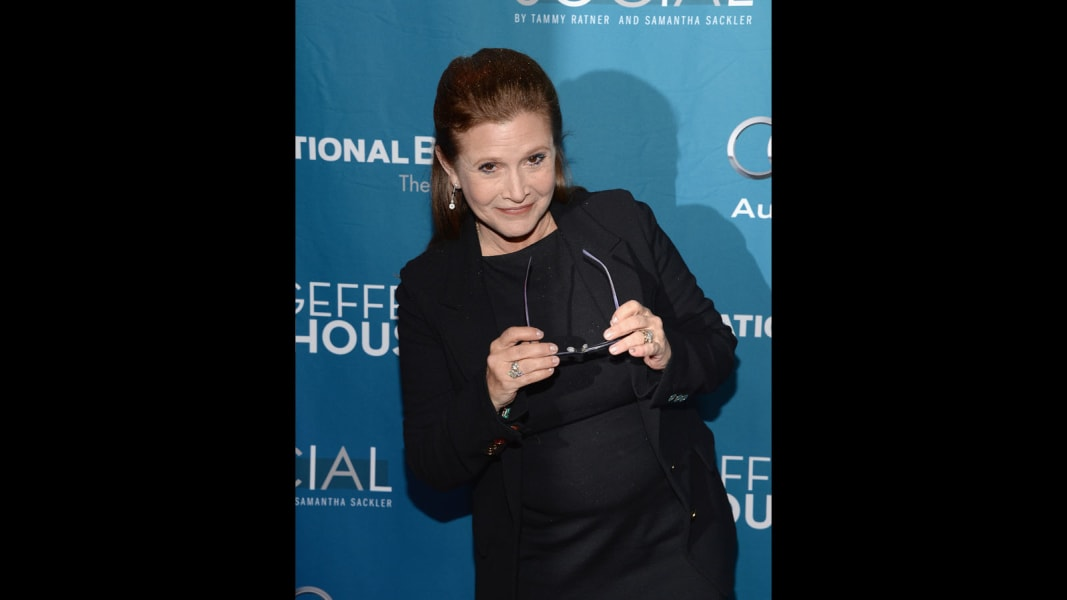 Carrie Fisher October 2014