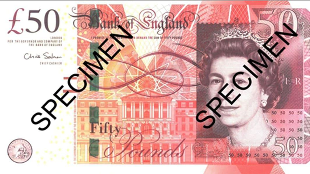 50 pound note GBP