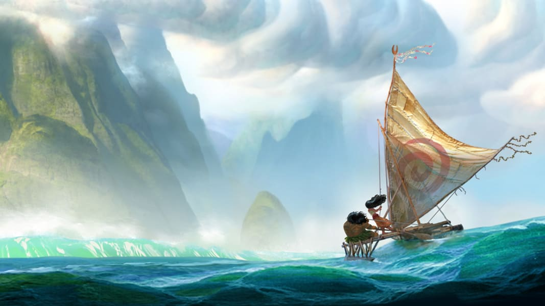 Moana movie concept art