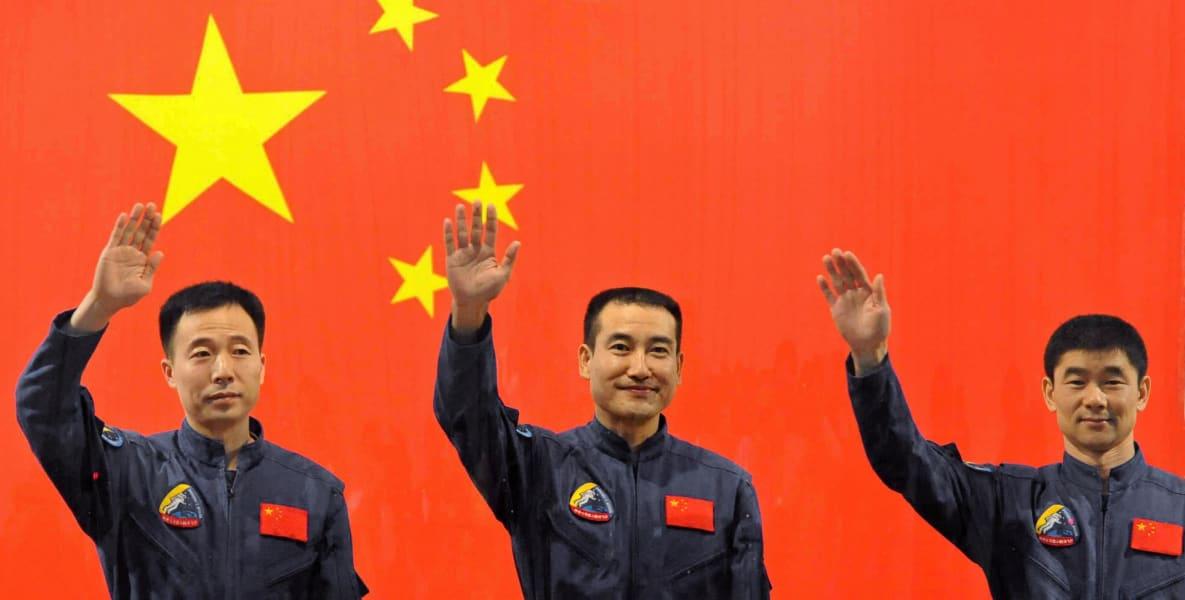 China space walk astronauts