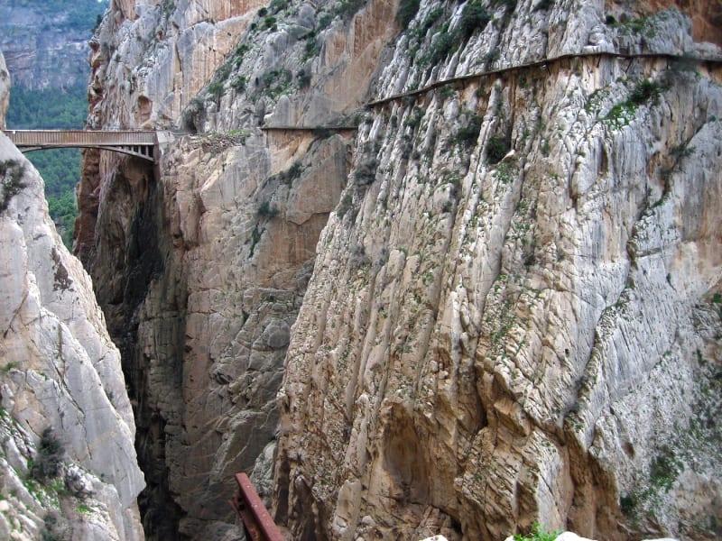 footbridge caminito del rey