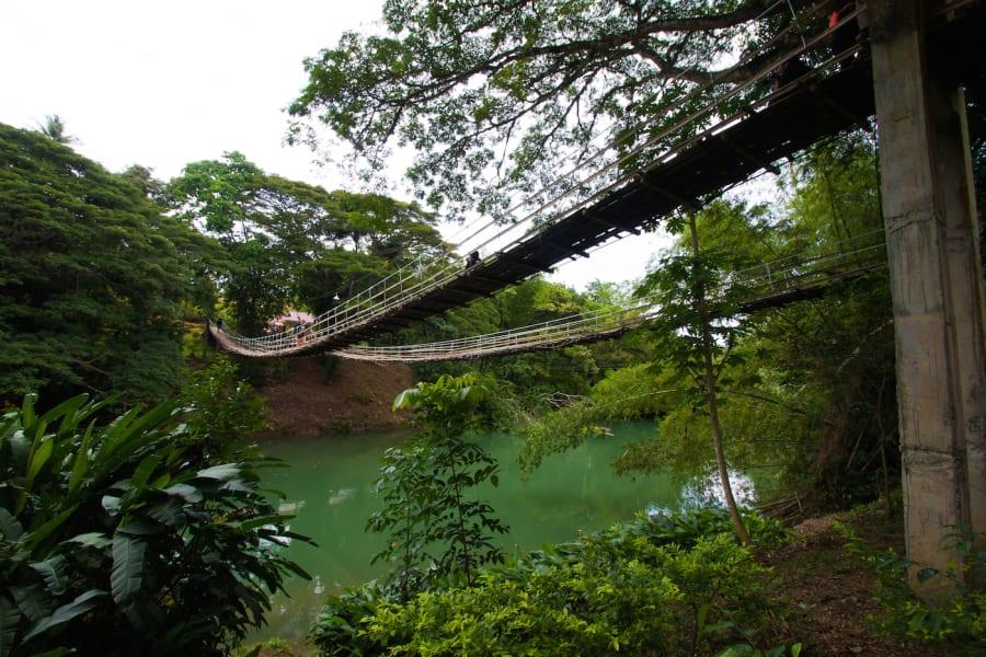 footbridge bohol hanging bridge