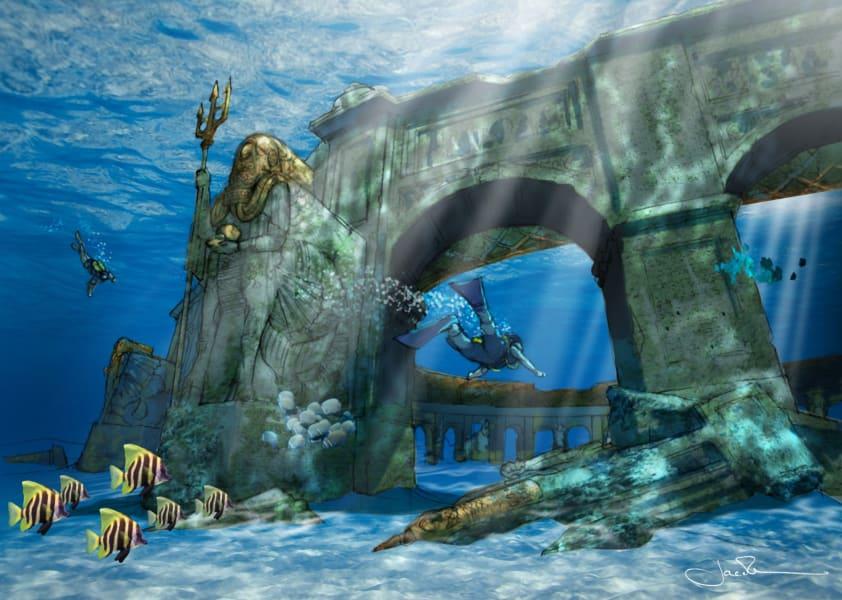 Dubai theme park reef world