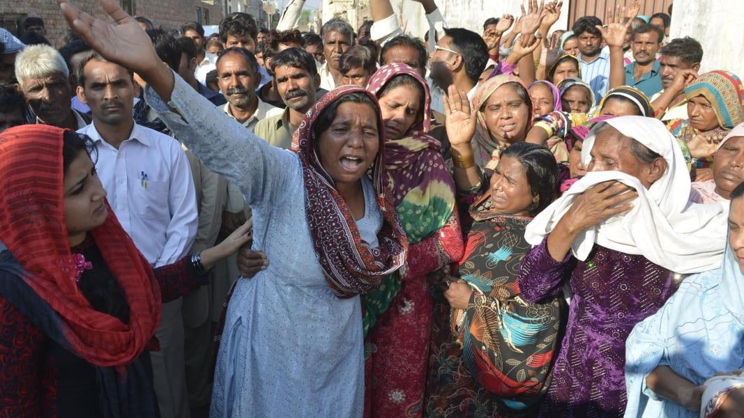 Pakistani Christian couple