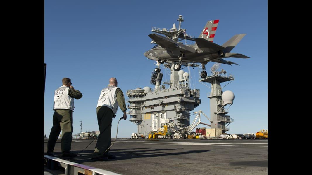 02 F-35 carrier trials