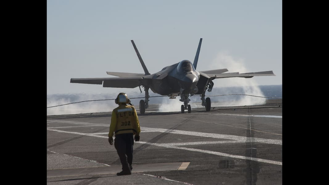 05 F-35 carrier trials