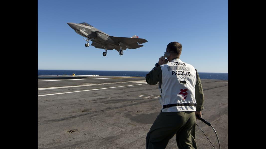 06 F-35 carrier trials