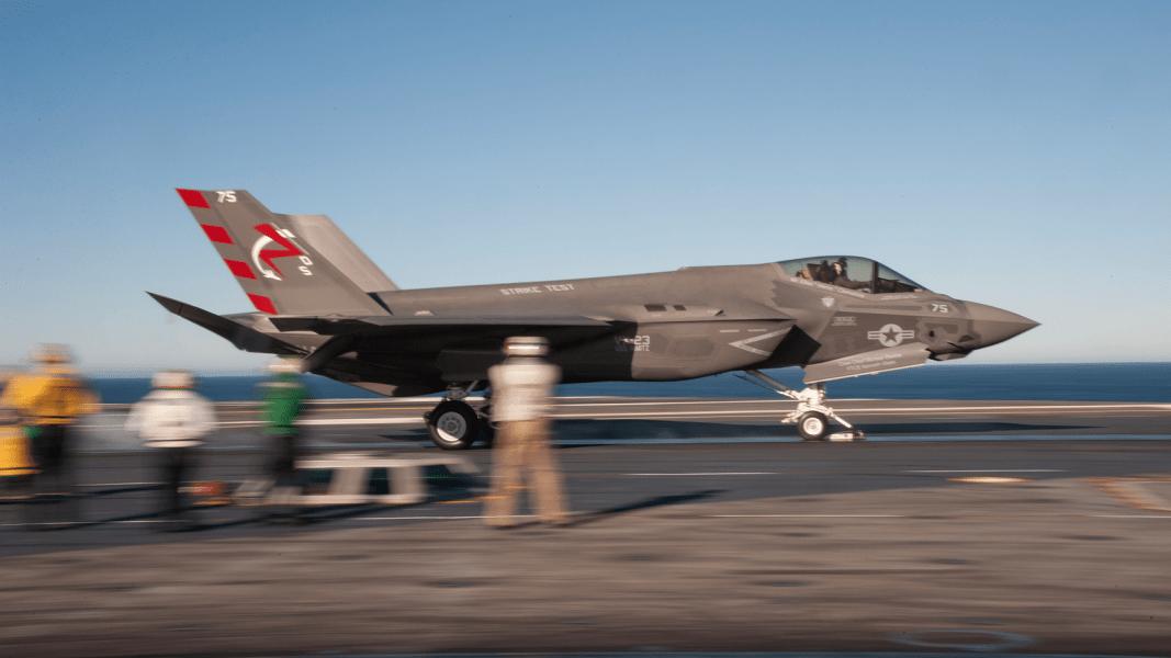 07 F-35 carrier trials