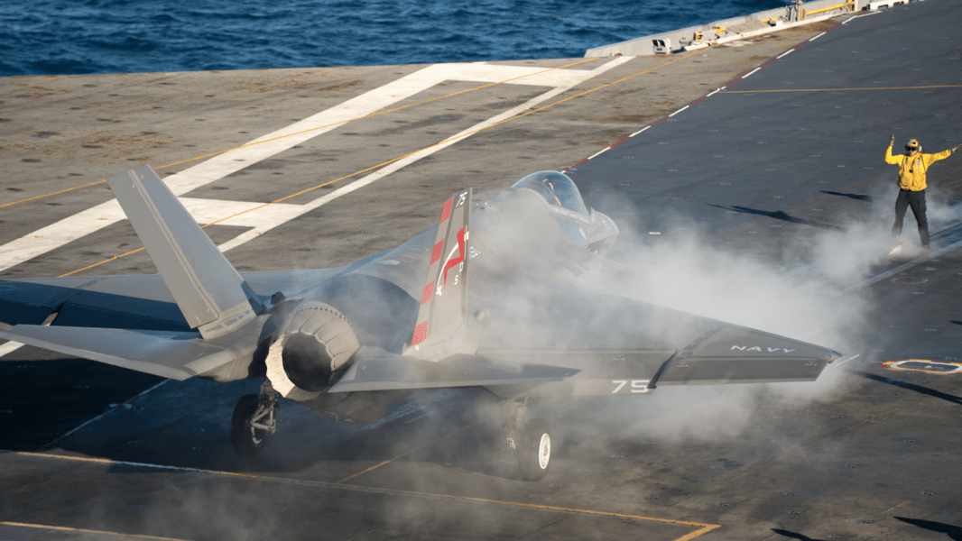08 F-35 carrier trials