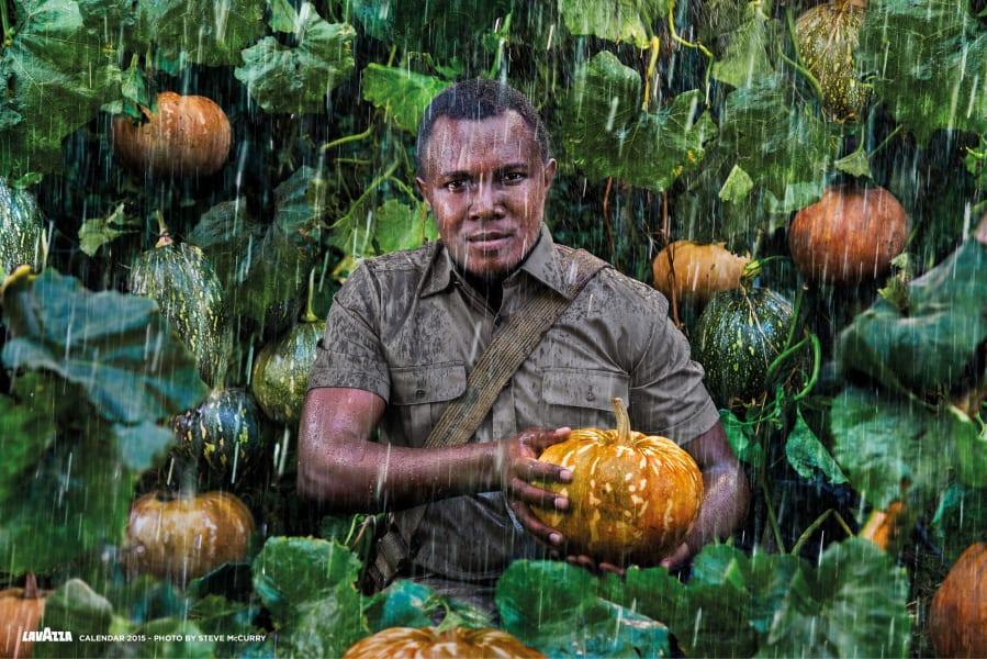 03. Seed Saver. LAVAZZA CALENDAR 2015. Earth Defender - John Kariuki Mwangi