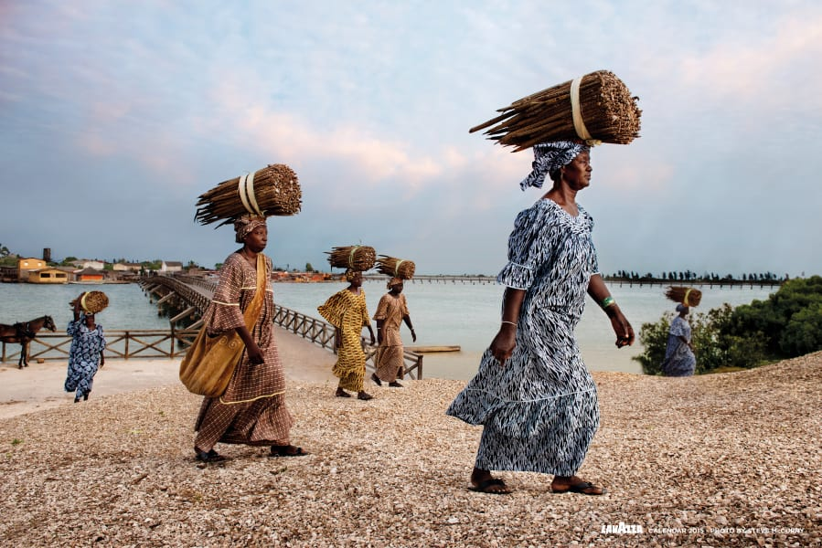 10. Women of Fadiouth. LAVAZZA CALENDAR 2015. Earth Defender - Anna Ndiaye