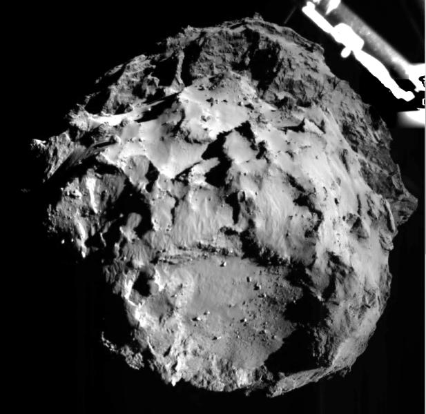 first descent image rolis philae rosetta