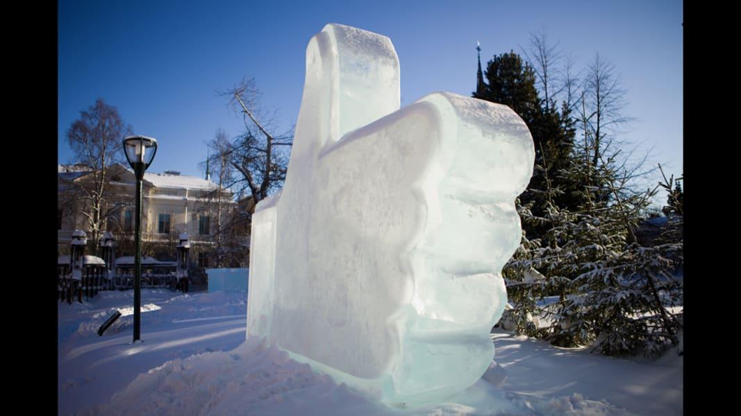 data centre like ice