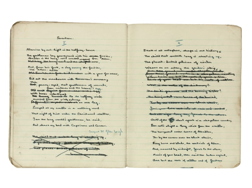 Dylan Thomas long-lost notebook