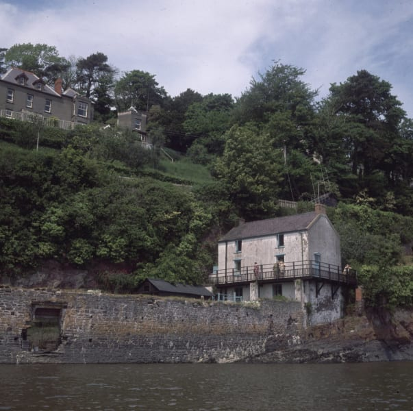 Dylan Thomas boathouse Laugharne