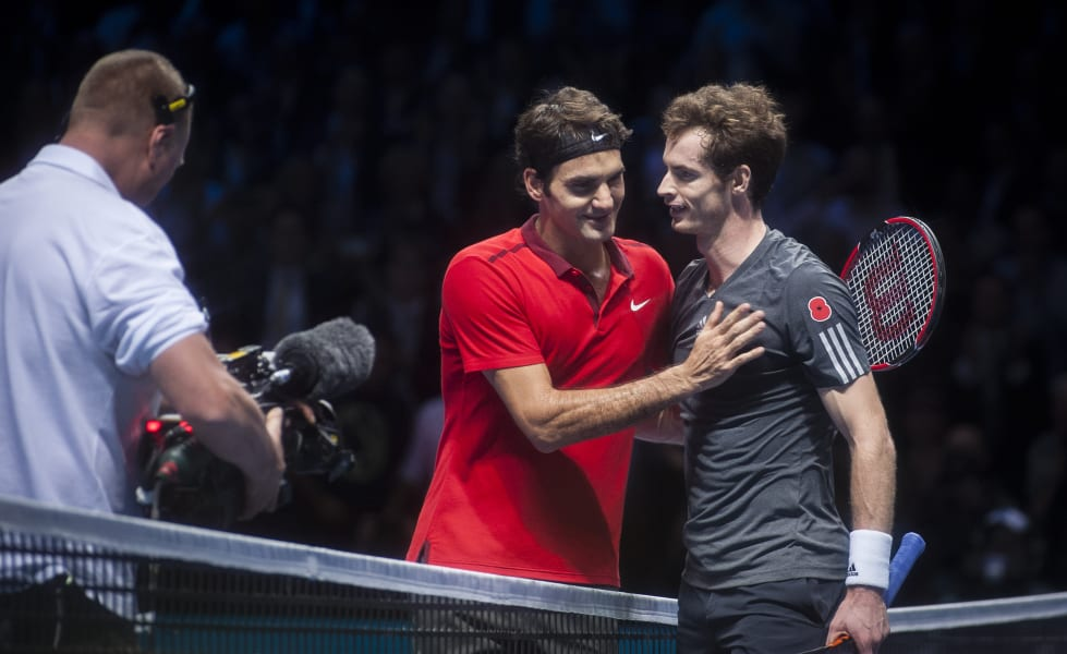 tennis roger federer andy murray atp world tour finals