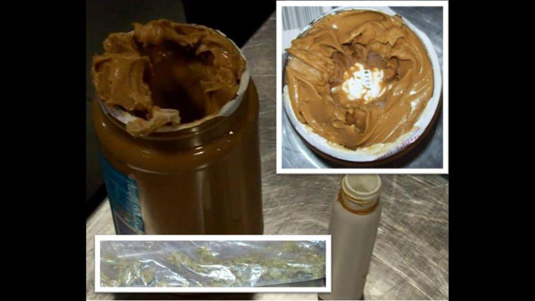 marijuana in peanut butter