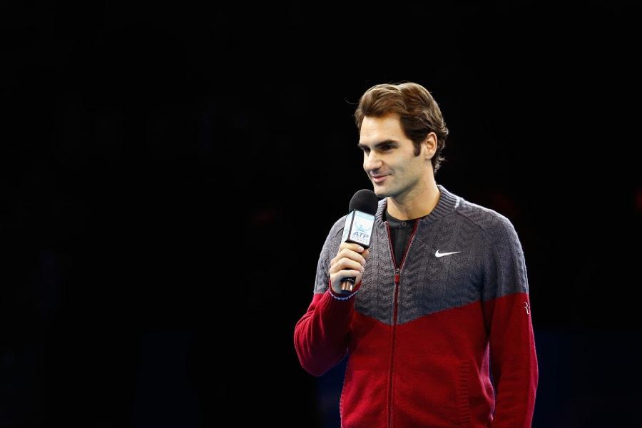 Federer quits