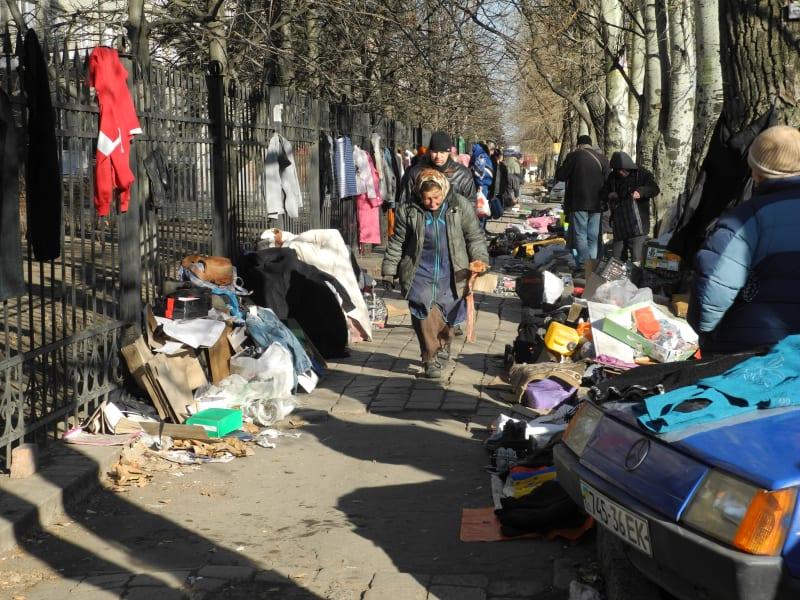 Donetsk fleamarket