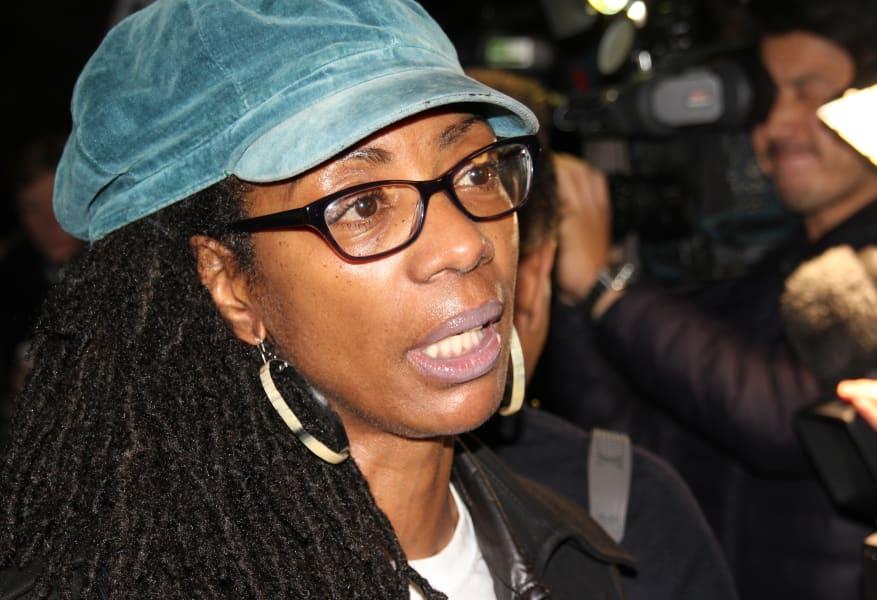Marcia Rigg London to Ferguson protest
